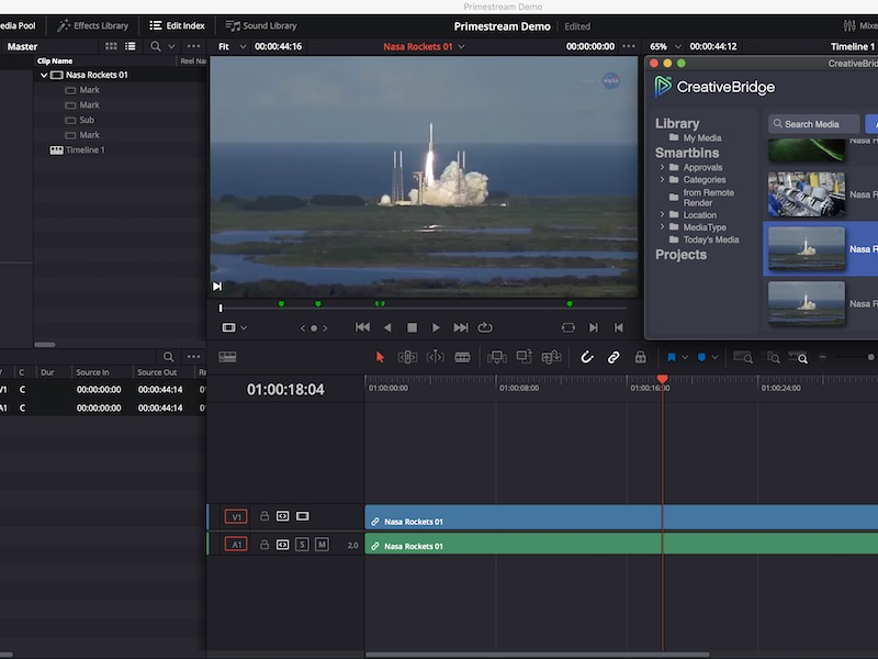 Primestream e Blackmagic Design...