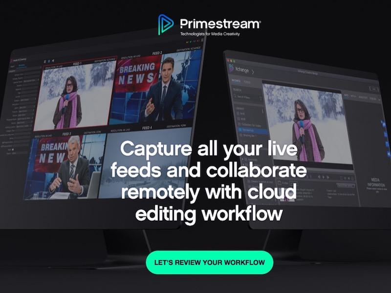 Primestream: Piattaforma Xchange...